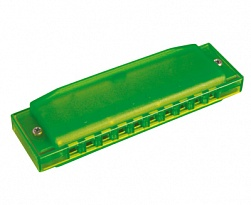 Hohner M5153 Happy Color Green Губная гармошка [12/240]