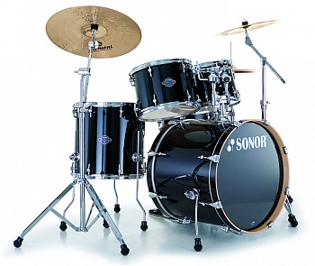 ESF 11 Stage S Drive Set NM 11234 Essential Force Барабанная установка, черная, б/кр, Sonor. Модель 17210540 в магазине КлаусМюзик