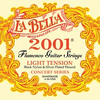 La Bella 2001FL 2001 Flamenco Light